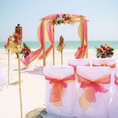 Beach Chair Canopy Taupe Covers Tropical Garden Collection