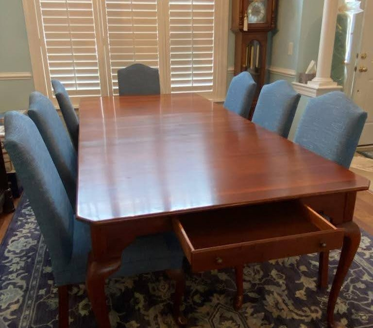 Lexington Cherry Dining Room Table