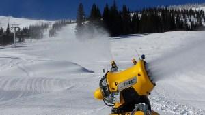 Schweitzer Mountain Resort Snowmaking
