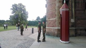 Rosenborg kasteel-wacht