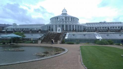 botanische tuin serre