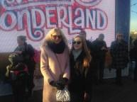 Gina and I in Winter Wonderland