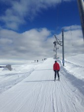 It was so lovely to finally ski again