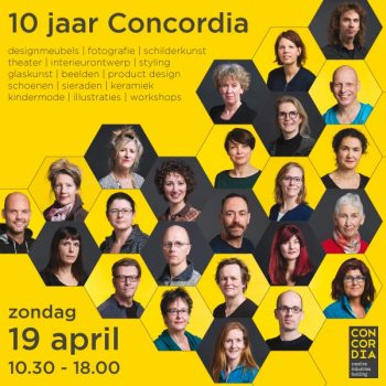 10 jaar in Concordiastraat 68!