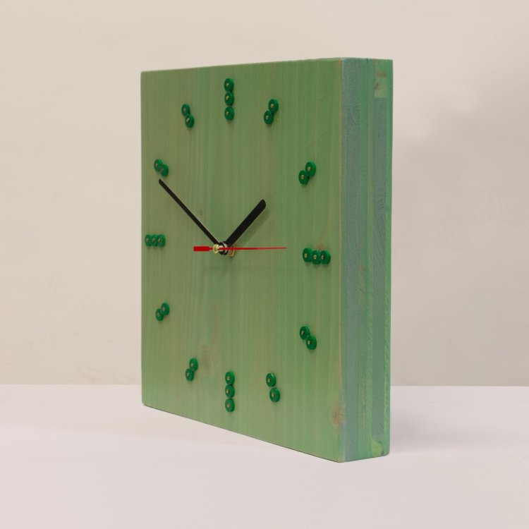 Klokje groen, douglas grenenhout