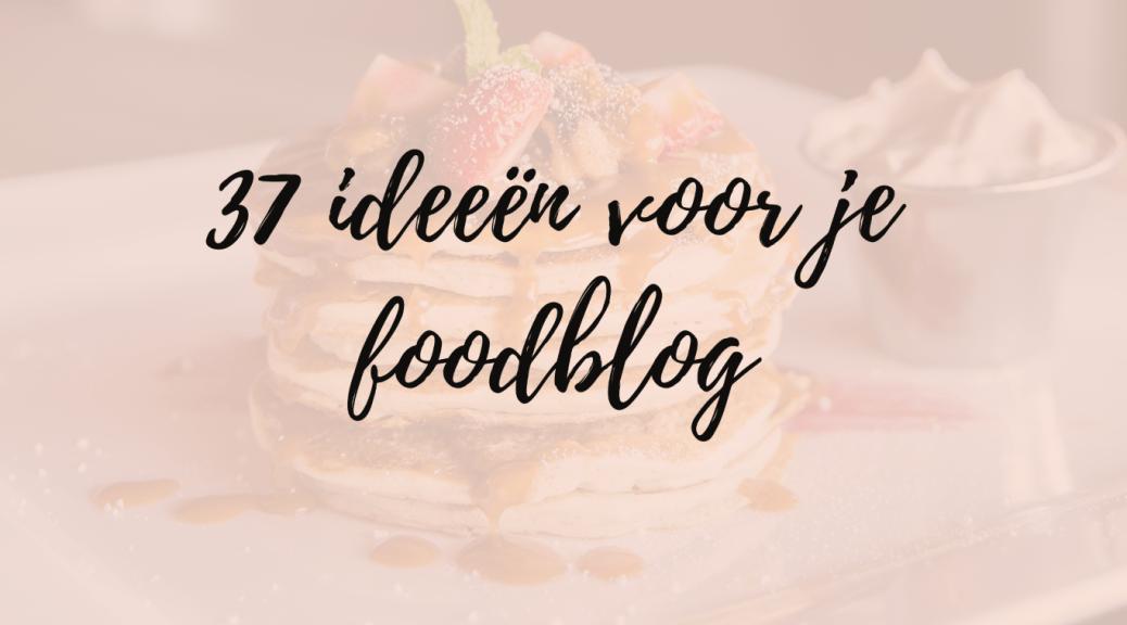 foodblog inspiratie