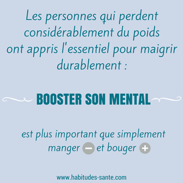 booster mental, citation, maigrir, poids, motivation