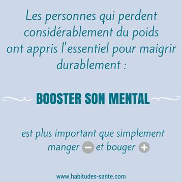 booster mental, citation, maigrir, poids, motivation