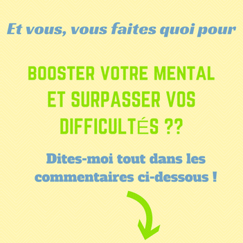 booster mental, surmonter difficultés, maigrir, poids, motivation