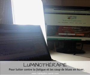 Luminothérapie pour lutter contre la fatigue et les coup de blues en hiver - www.sandrafm.com