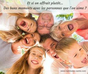 idée cadeau : bons moments en familles, amour, amitié - www.sandrafm.com