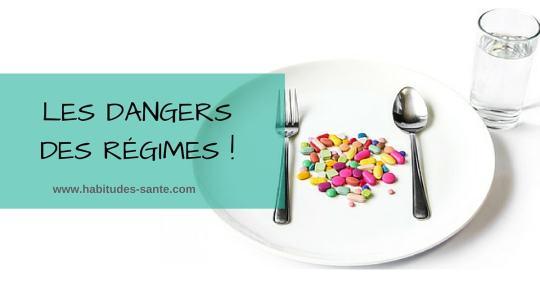 Le danger des régimes sur la santé - obésité, poids, maigrir