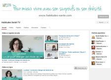 Youtube Habitudes Santé pour mieux vivre son surpoids ou son obésité