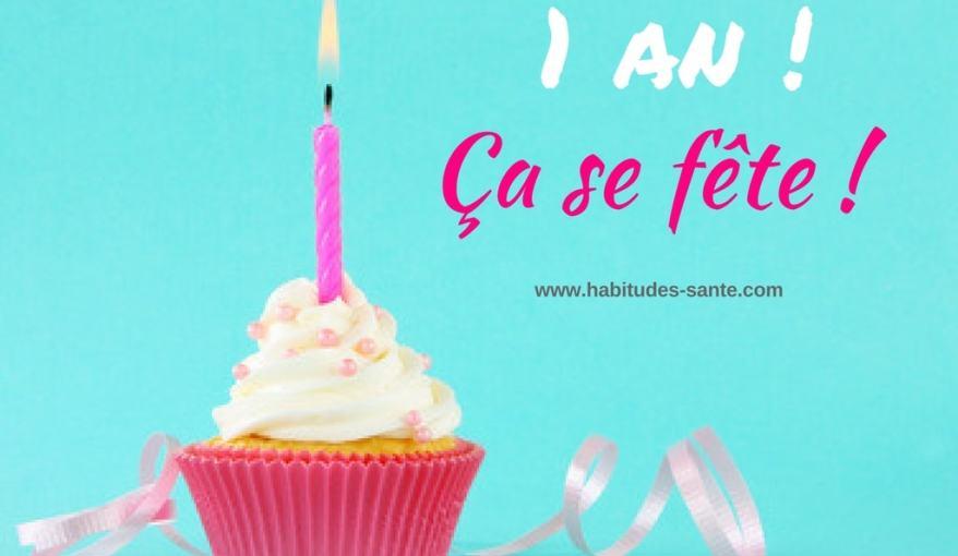 anniversaire Habitudes Santé