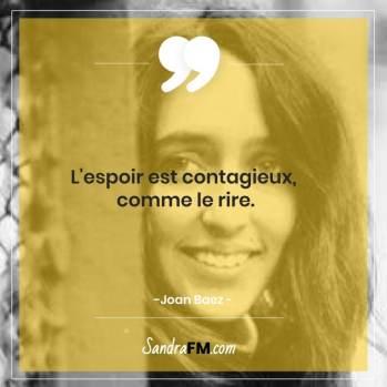 Fibromyalgie Libre douleurs chroniques fatigue sandra fm citation joan baez