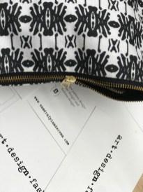 zipper pouch by sandra anderson