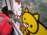 Kitsch at Maokong Gondola