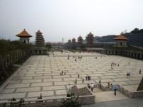Tempel Anlage aus Buddha's Sicht
