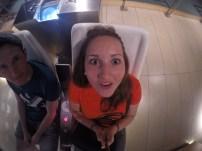 Selfie GoPro Spaß im Science Museum