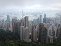 Aussicht auf HK