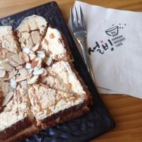 typisch koreanisches Dessert.