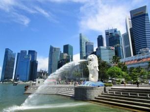 """Merlion - """"Wahrzeichen von Singapur"""""""