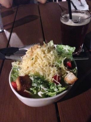 Ceasar Salad mit Parmesan