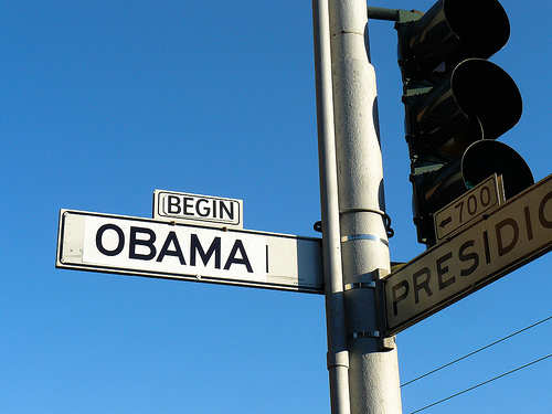 The San Fransisco street formerly known as Bush