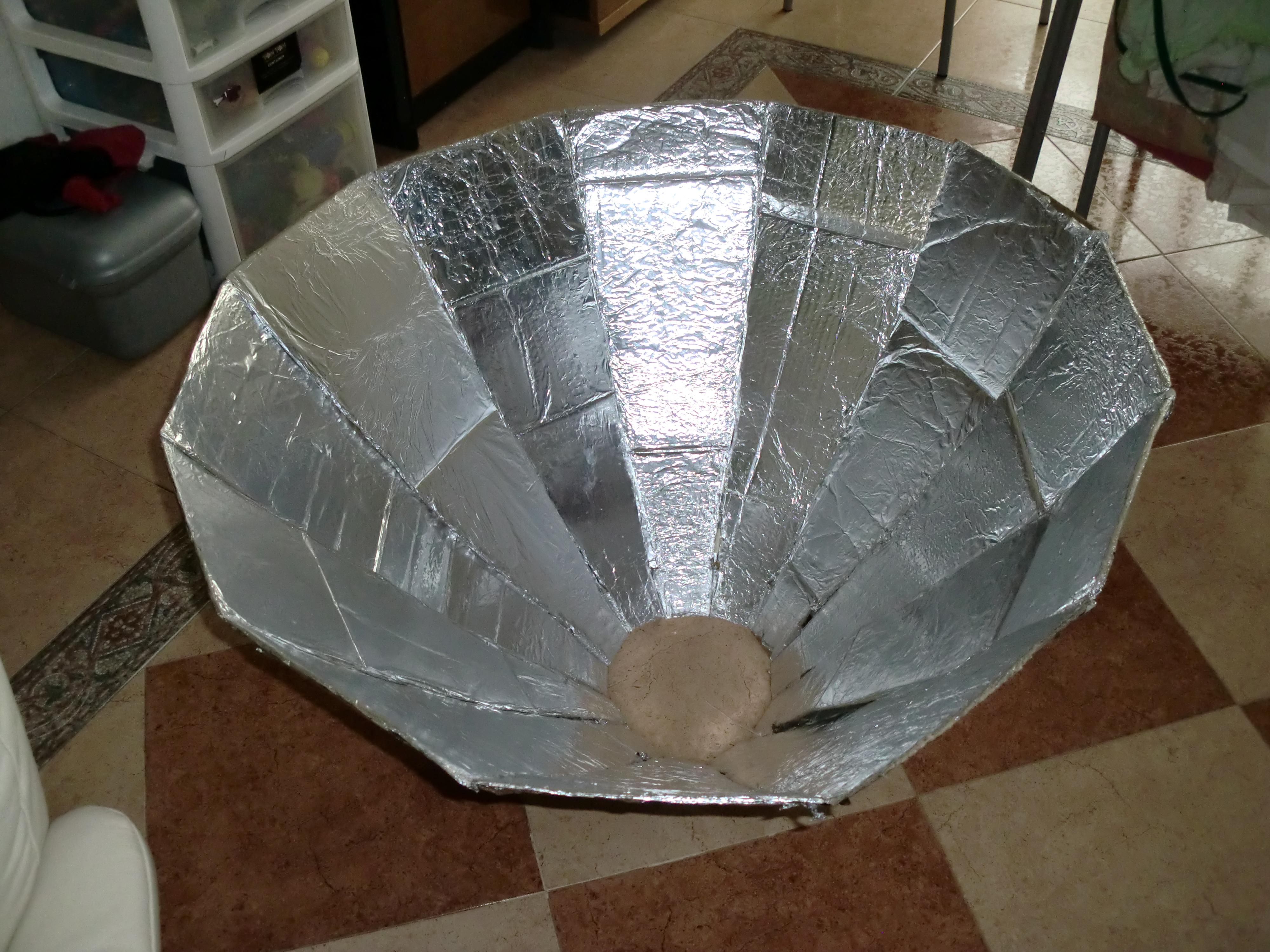 horno solar  procesos de construcion  Sandrahar1s Blog