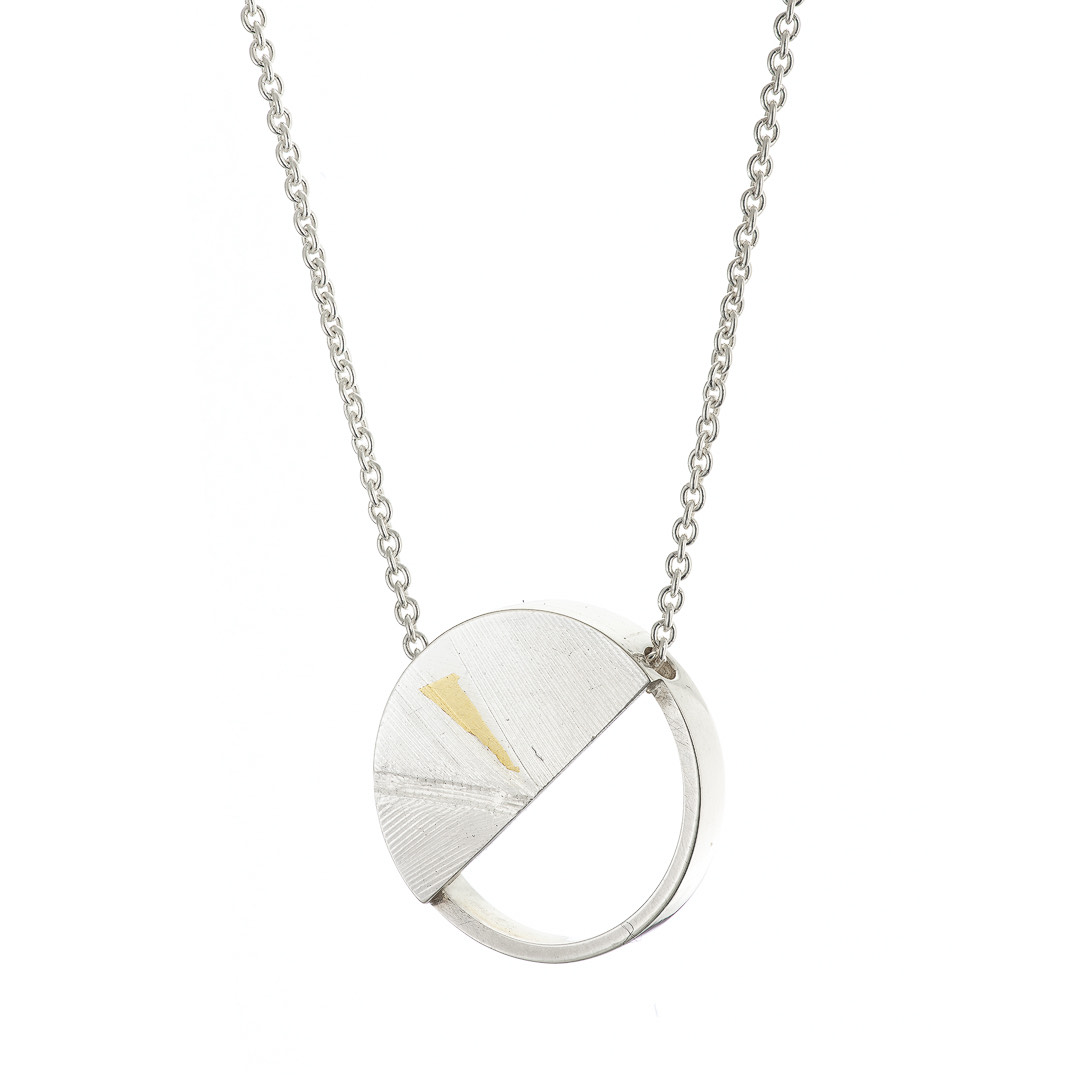 Birds of a Feather Large Semi-Circle Necklace