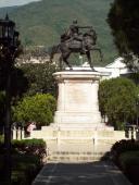 Plaza Bolívar Mérida, Venezuela.