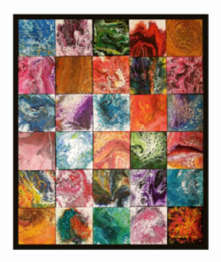 "Celebrate Recovery Art ""Quilt"""