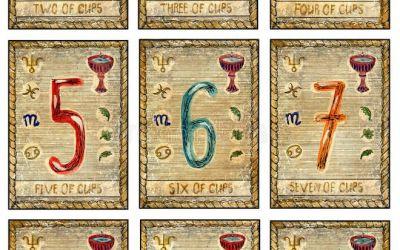 Los números en el Tarot
