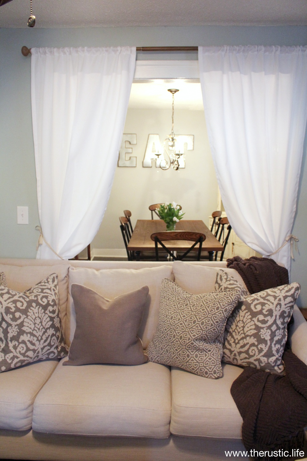Makeover Reveal for Home for the Holidays with Raymour and