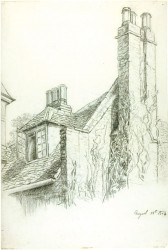 "Beatrix Potter, ""Bush Hall, Hatfield,"" 1884 (© Frederick Warne & Co. 2006)"