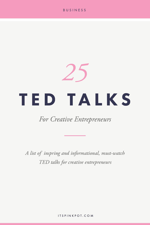 25-Ted-Talks-Creative-Entrepreneurs