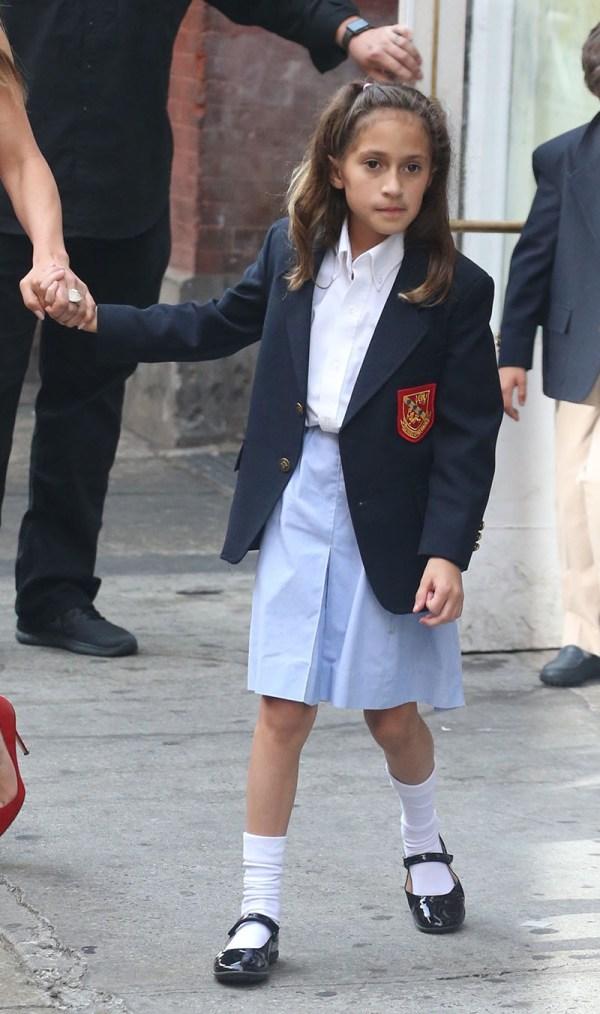 Jennifer Lopez And Daughter Emma Muniz Sandra Rose
