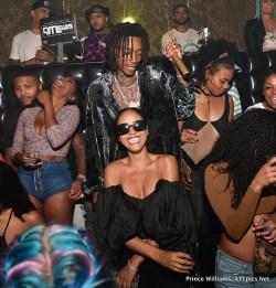 Particular Amber Rose Wiz Khalifa Kiss At Party Wiz Khalifa