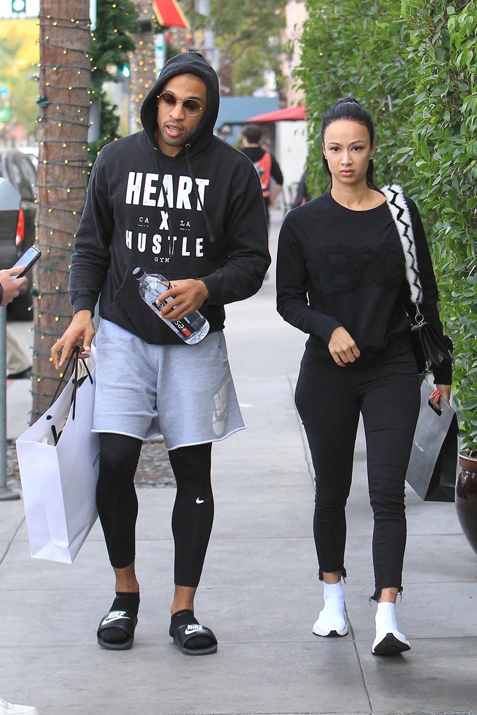 Draya Michele & Orlando Scandrick Go Shopping In Beverly