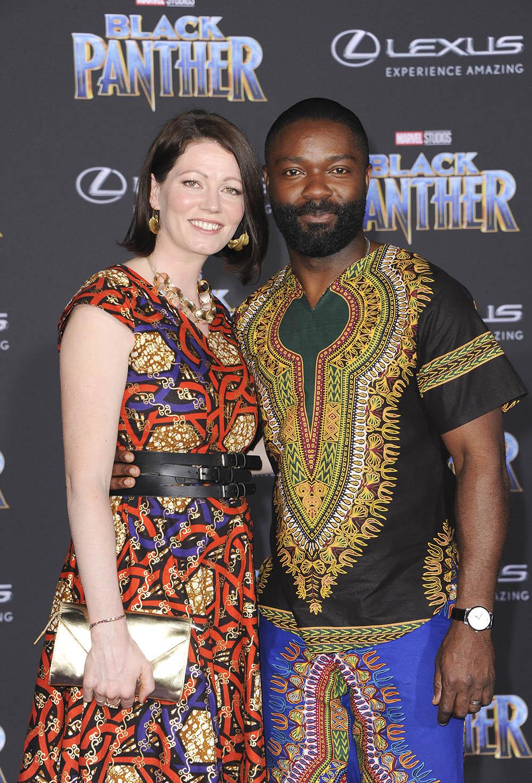 David Amp Jessica Oyelowo At Black Panther West Coast