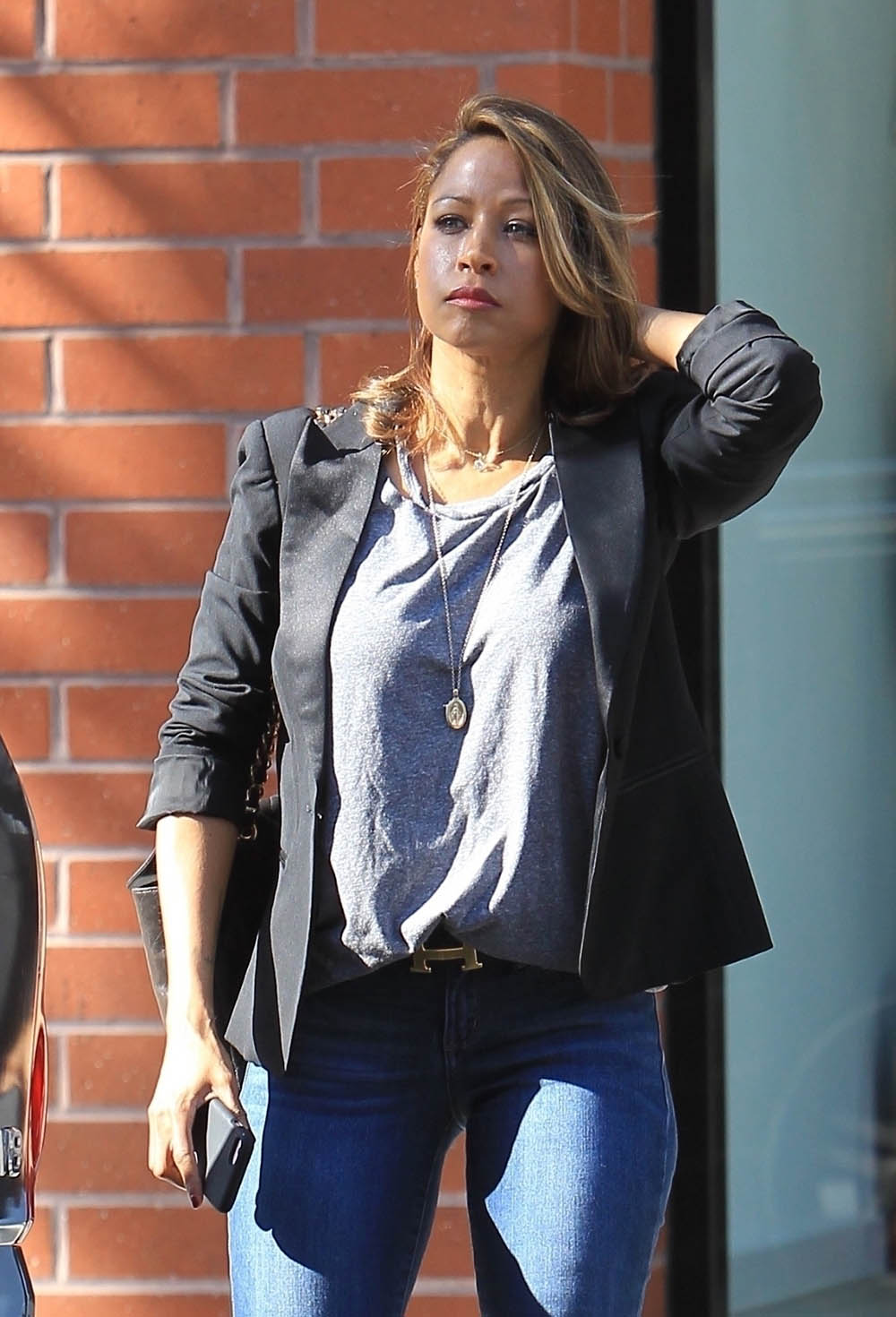 Clueless star Stacey dash shopping in Beverly Hills