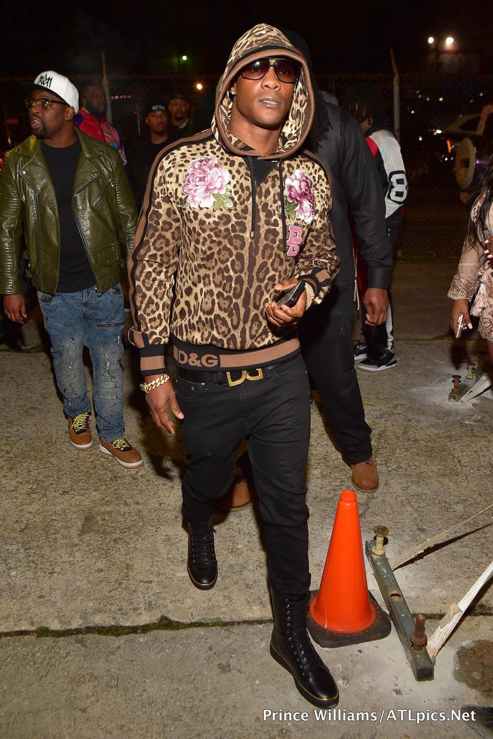 YFN Lucci Trap Du Soleil Themed Birthday Bash Sandra Rose
