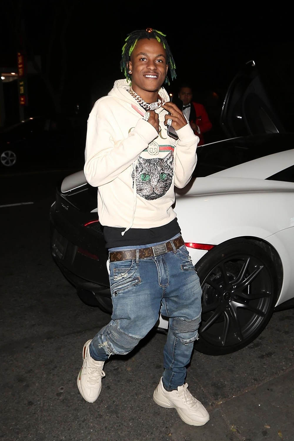 Rich the Kid  Quavo arrive for dinner at Delilah  Sandra Rose