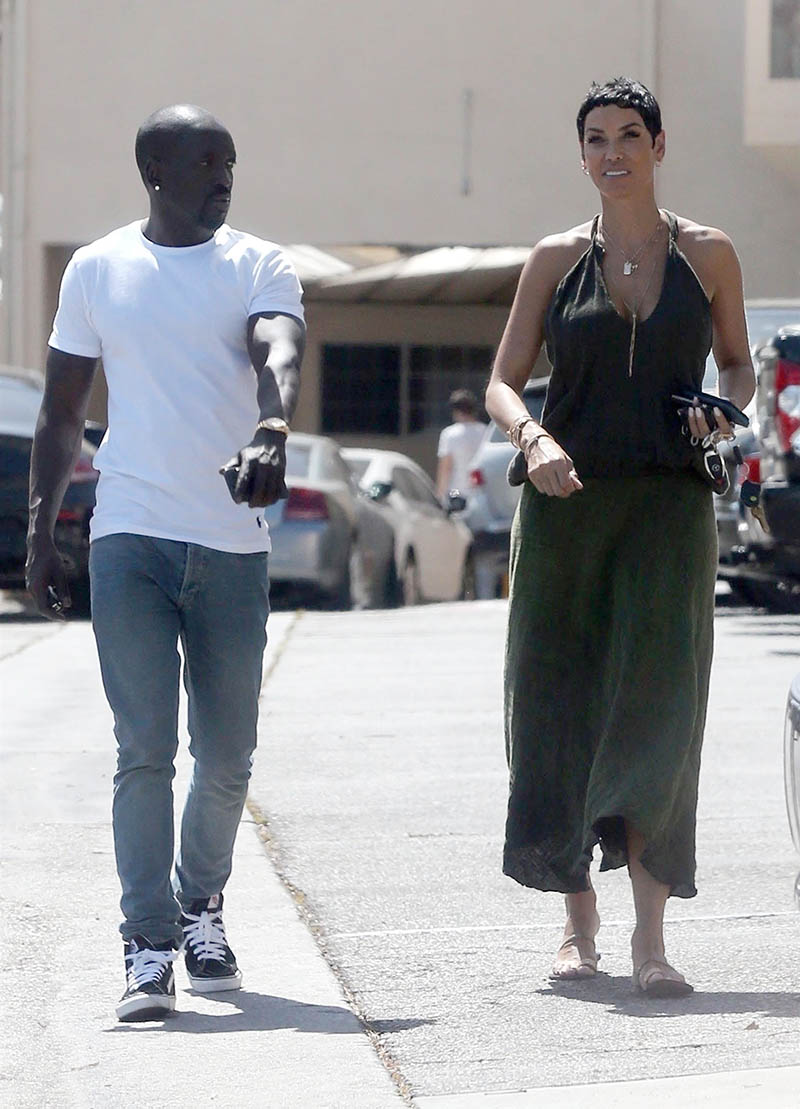 Nicole Murphy spotted out for lunch with Bu Thiam  Sandra Rose
