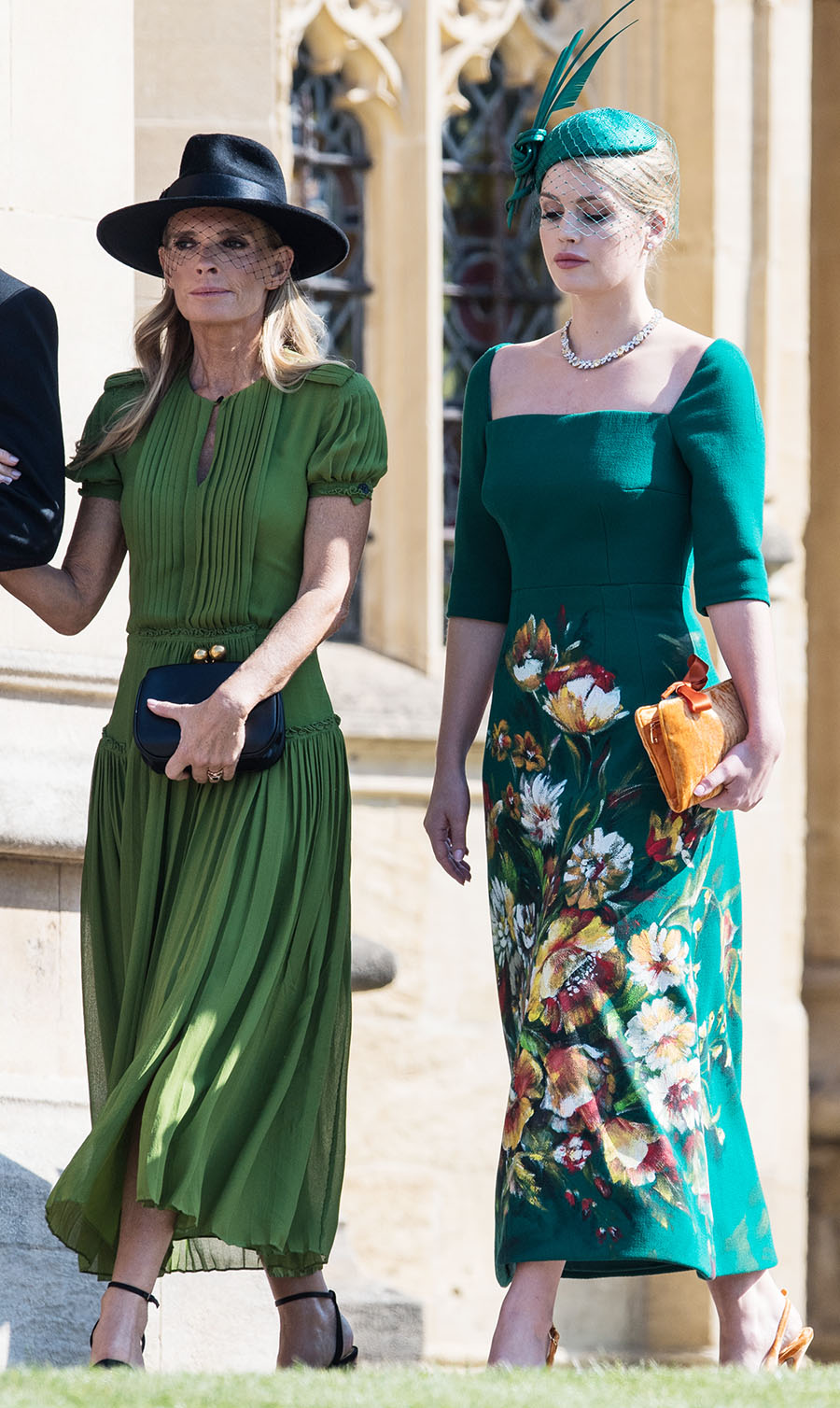 Victoria Aitken Lady Kitty Spencer at The wedding of