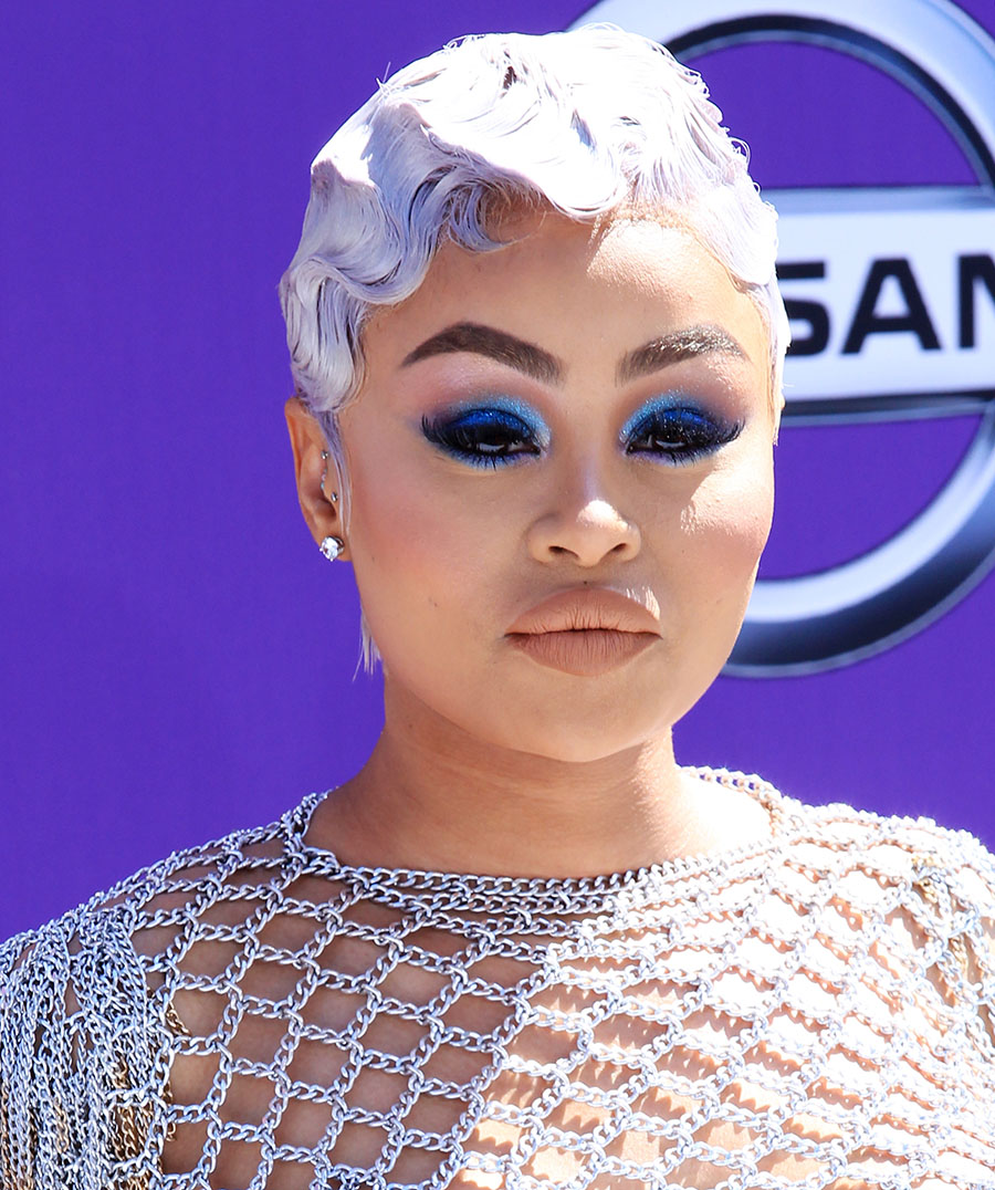 Blac Chyna attend the 2018 BET Awards at Microsoft Theater