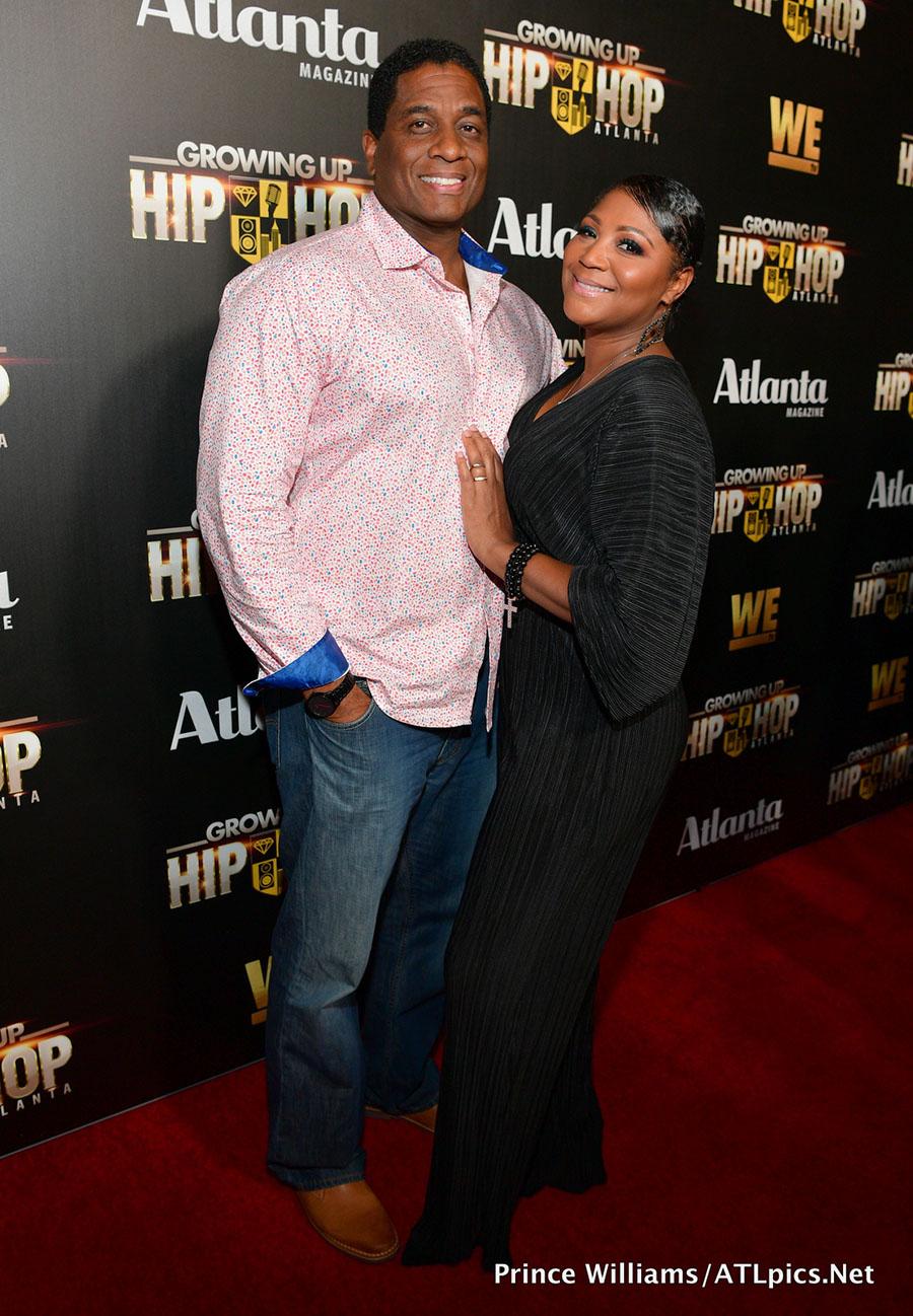 Von Scales  Trina Braxton at WeTV Celebrates Return of Growing Up Hip Atlanta held at Tongue