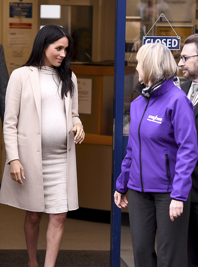 Meghan the Duchess of Sussex visits Mayhew an animal welfare charity on January 16 2019 in