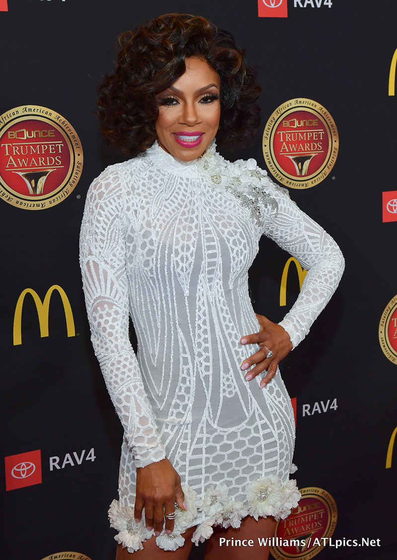 Actress Wendy Raquel Robinson attends the 2019 Bounce