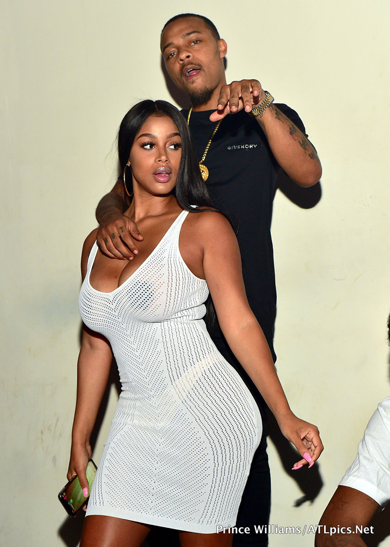 Bow Wow and Kiyomi Leslie partying at Club Revel in Atlanta in 2018Photo by Prince Williams